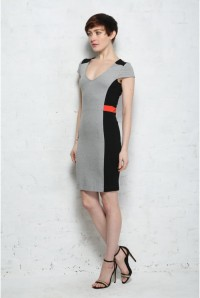 French Connection Manhattan Colour Block Dress