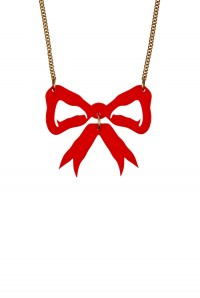 Tatty Devine Bow Necklace