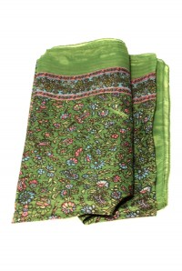 Vintage Style Green Scarf