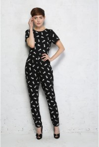 Sugarhill Boutique Pineapple Print Jumpsuit