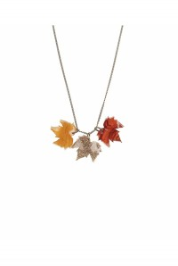 Tatty Devine Fallen Leaves Necklace