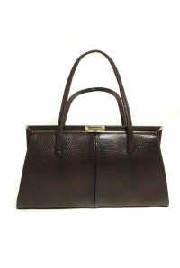 Vintage Brown Tote Bag