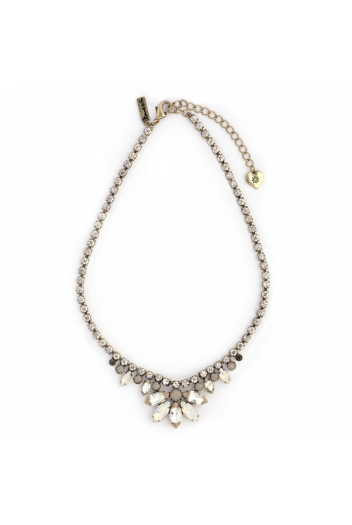 Vintage Style Diamante Necklace