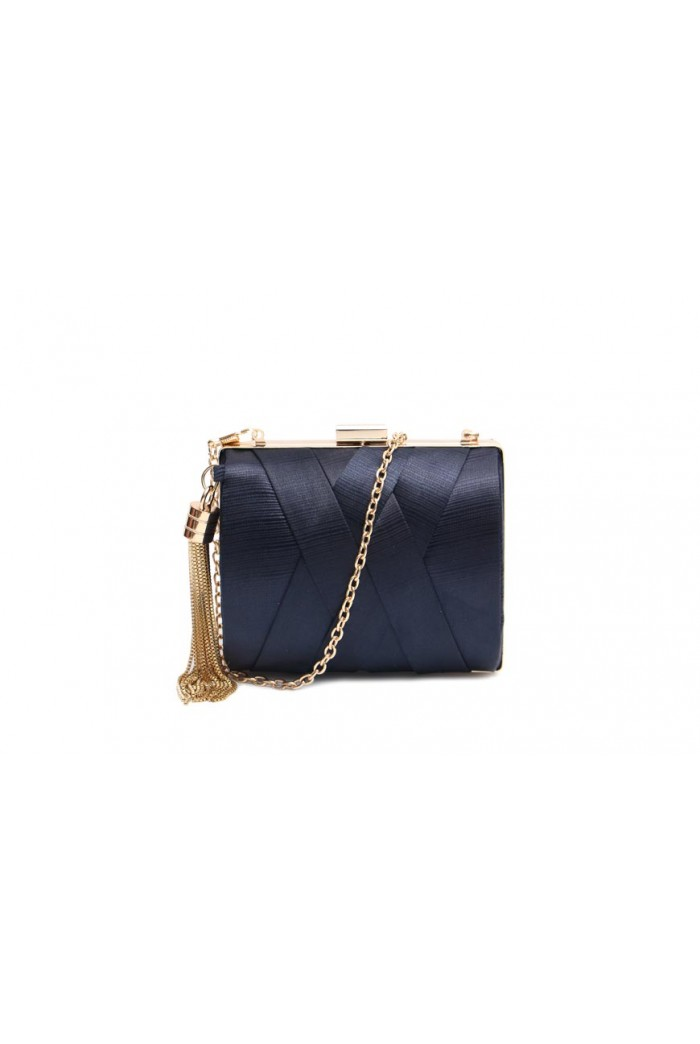 Navy Evening Clutch