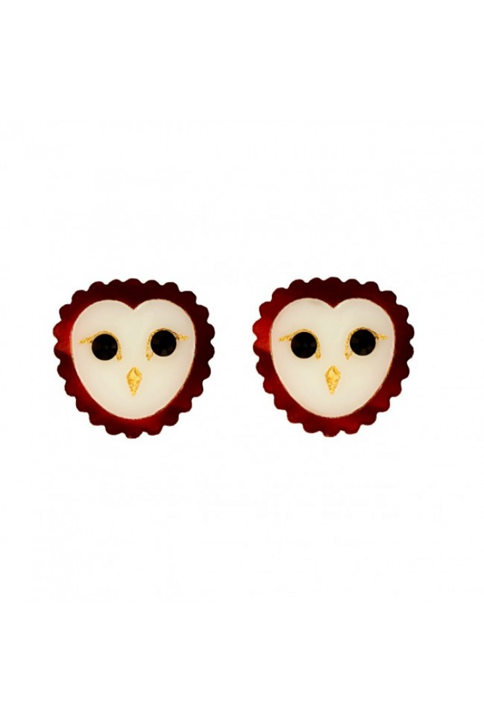 Tatty Devine Barn Owl Earrings