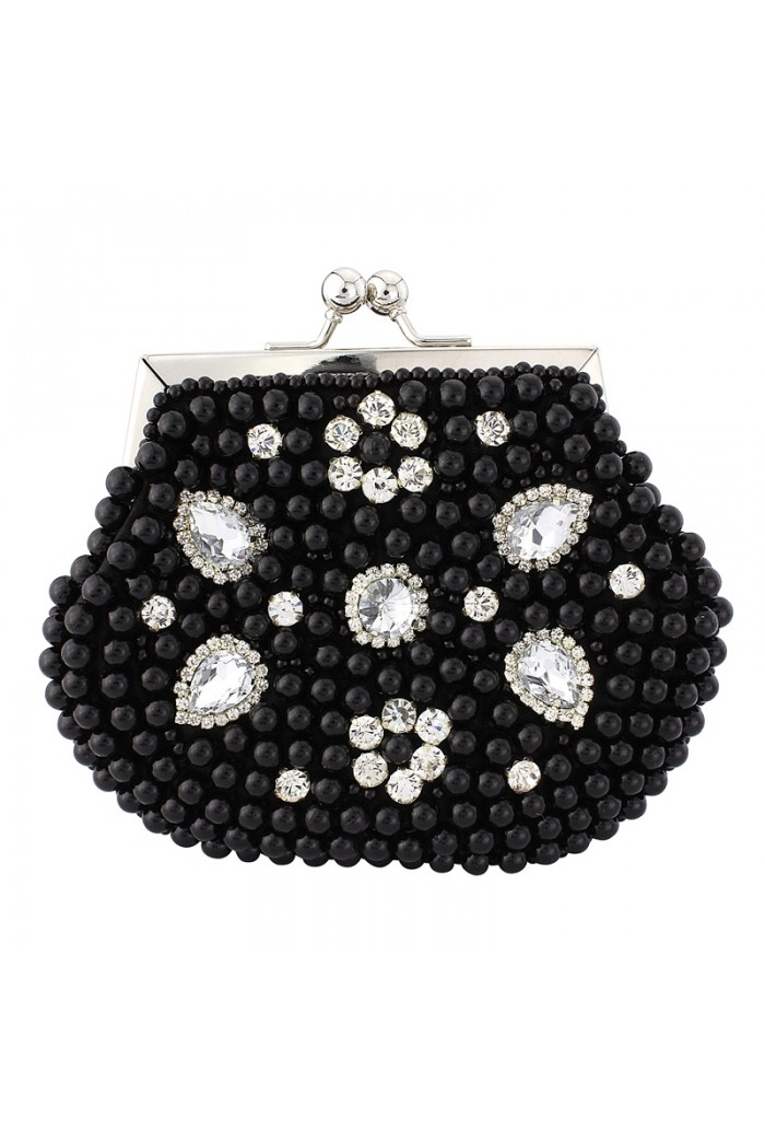 Black Pearl Clutch