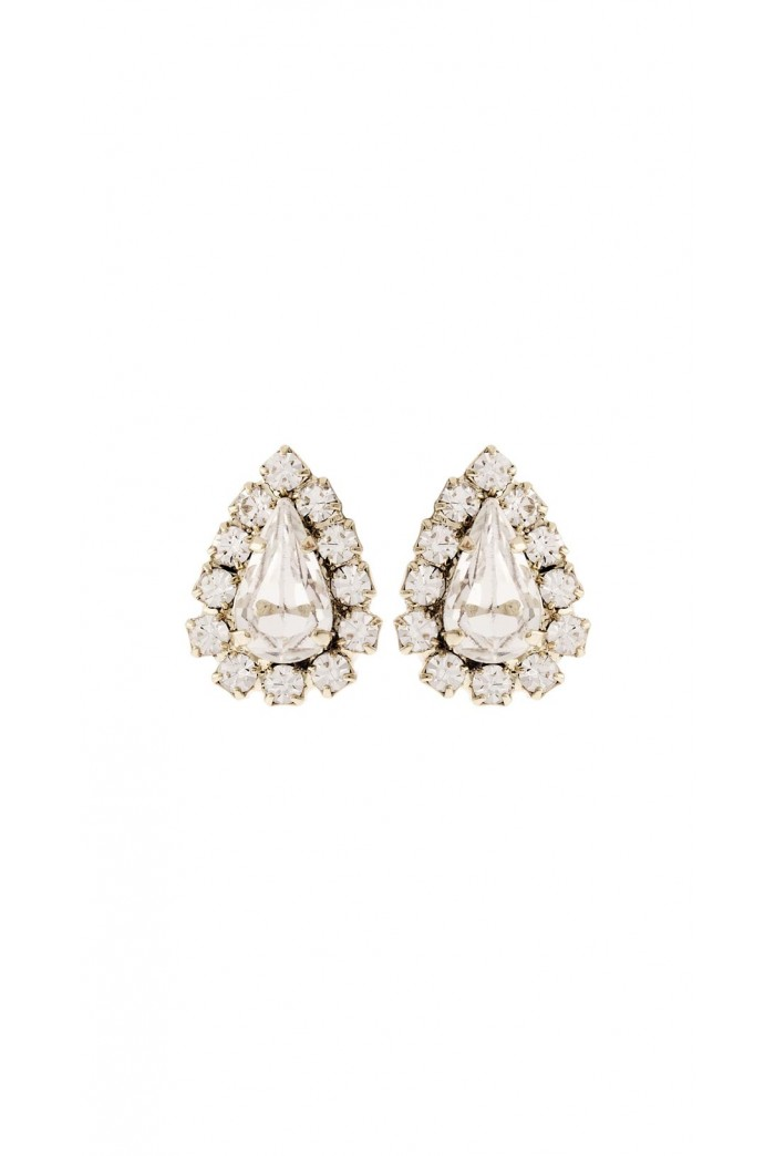 Crystal Drop Studs