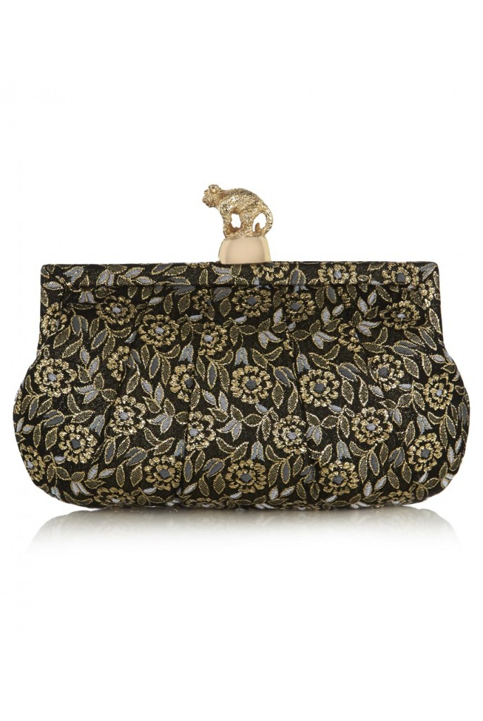 Wilbur & Gussie Margot Clutch - Embroidered