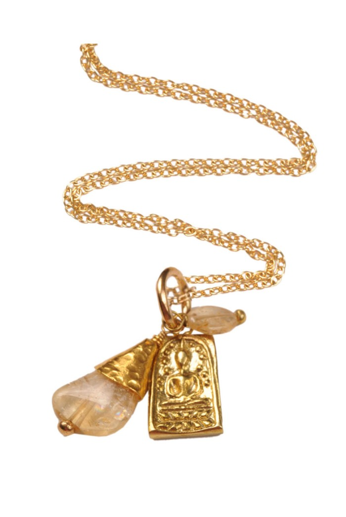 Mirabelle Buddha Necklace