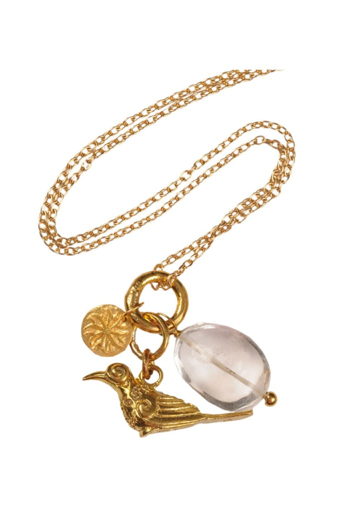 Mirabelle Bird Pendant Necklace