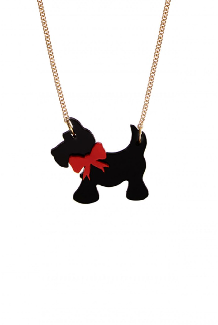 Tatty Devine Scotty Dog Necklace