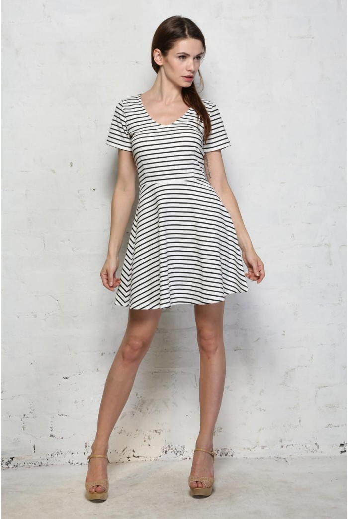 Sugarhill Boutique City Stripe Dress