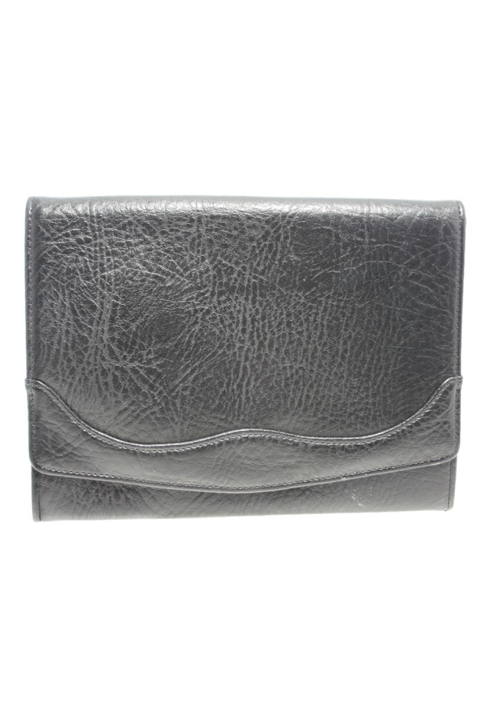 Vintage Large Black Clutch