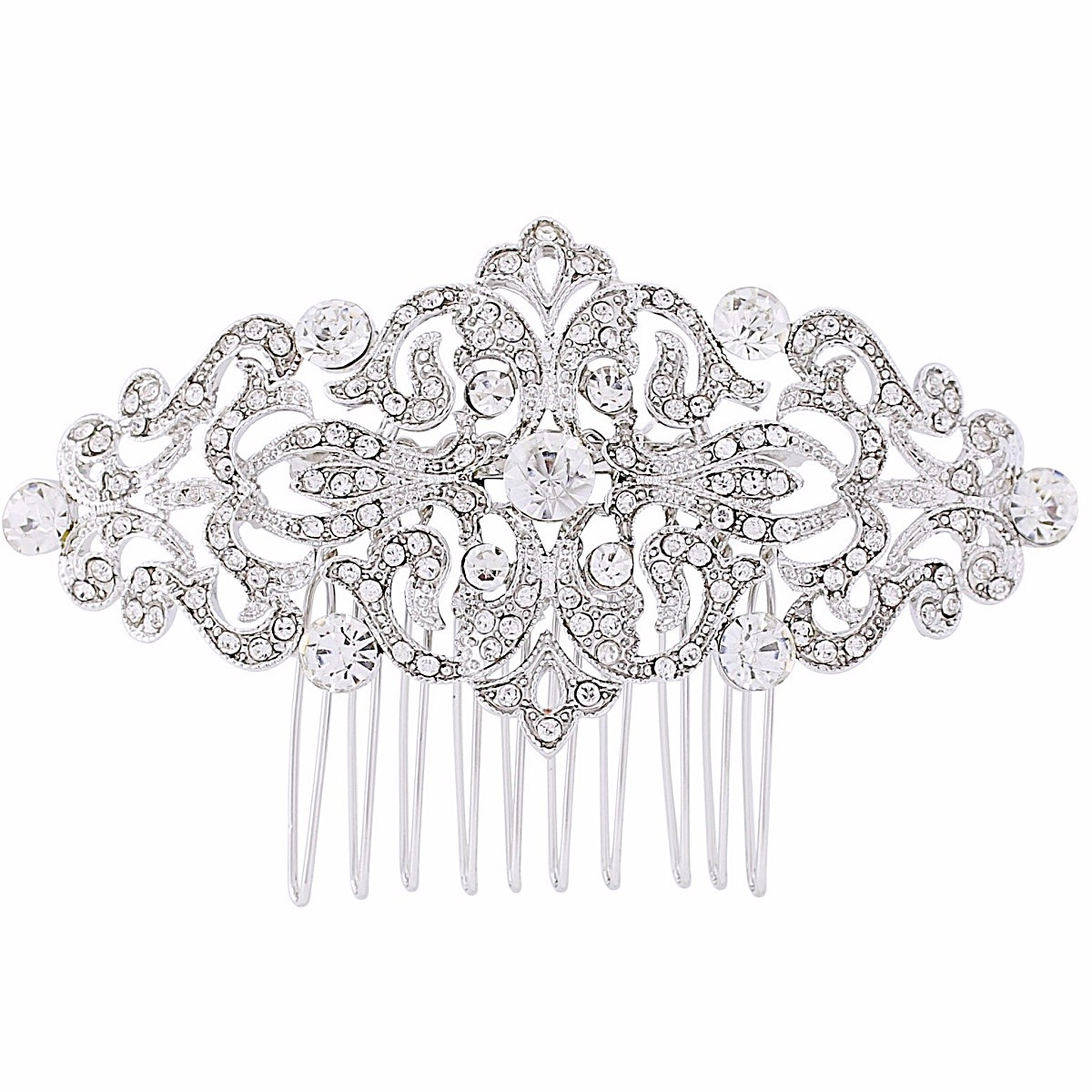 Crystal Gatsby Hair Comb