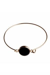 1960s Black Circle Bracelet