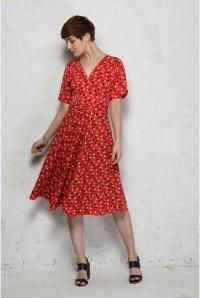 Trollied Dolly Floral Tea Dress