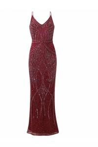 Red Gatsby Maxi Dress