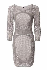 Grey 1920s Dress