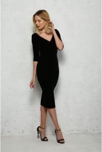 Velvet Wiggle Dress