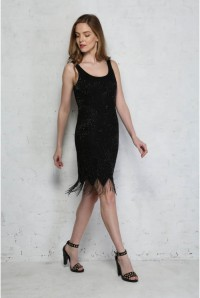 Vintage Harrods Flapper Dress