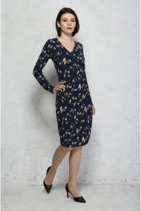 Callie Bright Birdie Jersey Dress