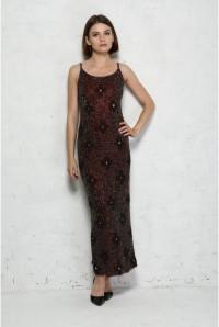 Vintage Beaded Mirror Dress