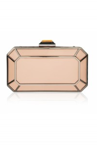 Pink Art Deco Clutch Bag