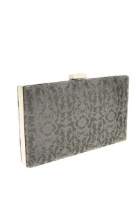 Black Lace Clutch Bag