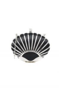 Art Deco Shell Clutch
