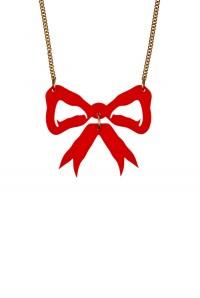 Tatty Devine Bow Necklace