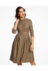 Tweed Shirt Dress