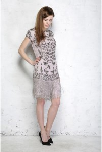 Fringed Flapper Dress