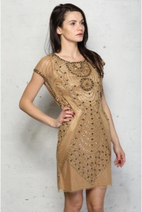 Gold Flapper Dress