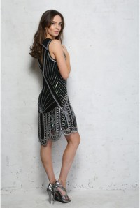 Black Gatsby Dress