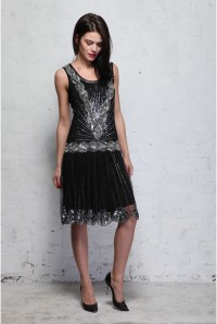 Frock And Frill Zelda Dress - Black