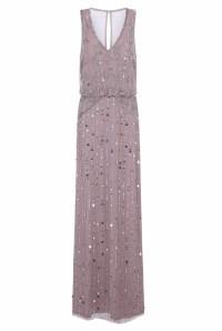 Blush 1920s Maxi Dress
