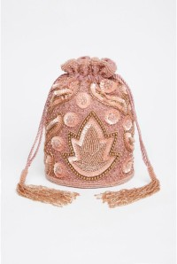 Rose Gold Flapper Bag