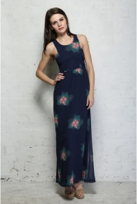 Sugarhill Boutique Island Flower Maxi Dress