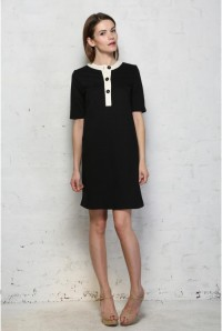 People Tree Stacie Button Dress