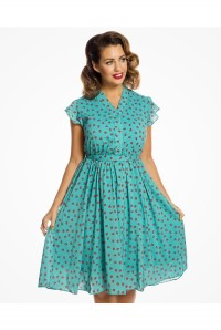 Ladybird Print Tea Dress