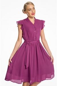 Purple Tea Dress