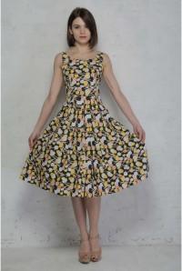 Lolly Pop Print Prom Dress