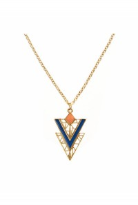 Aztec Triangle Necklace