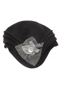 Black Flapper Hat