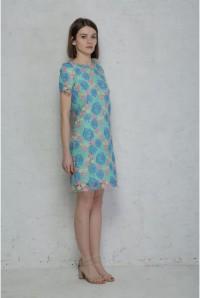Pastel Flapper Dress