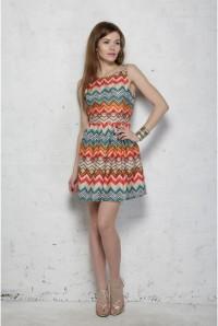 Sugarhill Boutique Zig Zag Dress