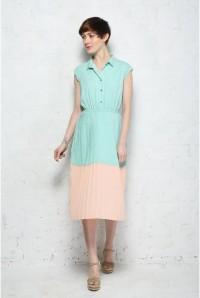 Sugarhill Boutique Penelope Colour Block Midi Dress