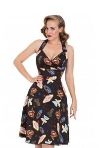 Las Vegas Print Dress