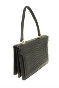 Vintage Black Riviera Handbag