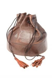 Vintage Drawstring Bag